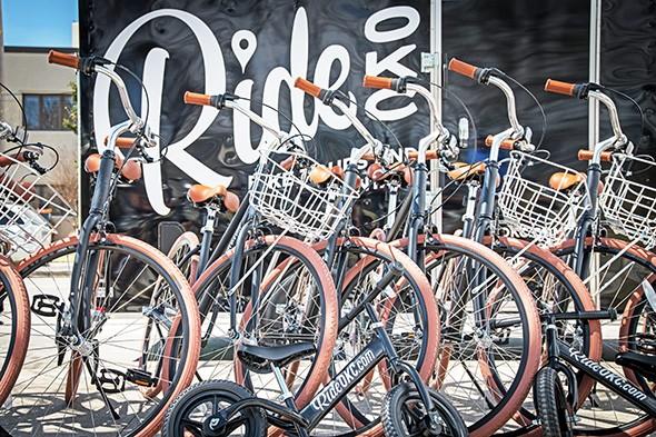 Ride OKC is a finalist for ULI Oklahoma's Outstanding Community Building Effort Award. - ULI OKLAHOMA / PROVIDED