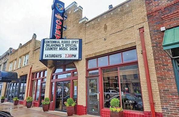Rodeo Cinema is a finalist for ULI - Oklahoma's Boutique Development Award. - ULI OKLAHOMA / PROVIDED