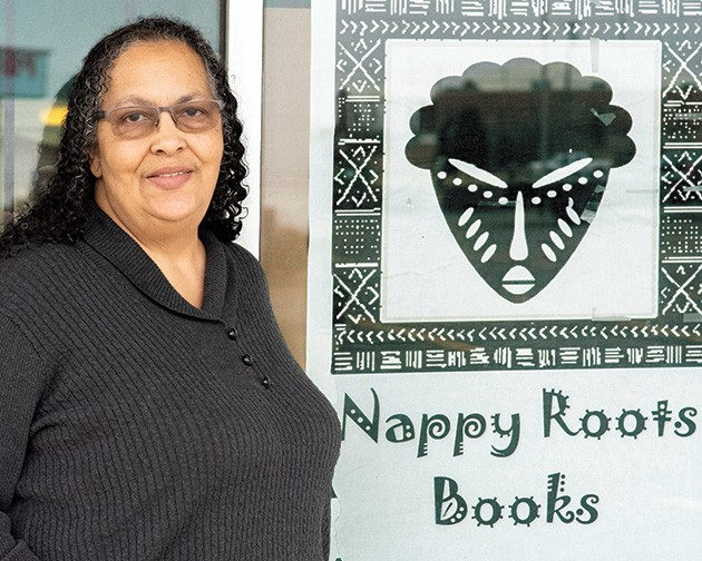 """Camille Landry, owner of Nappy Roots Books, refers to northeast Oklahoma as """"Ground Zero of the incarceration nightmare."""" - MIGUEL RIOS"""