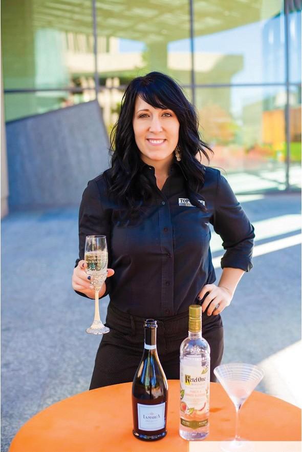 Haley Ritter owns Top Shelf Bartending. - PROVIDED