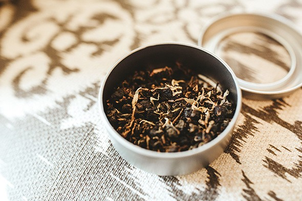 All teas at Rustic 1773 Mercantile are hand-shaken and categorized on their specific curative properties. - ALEXA ACE
