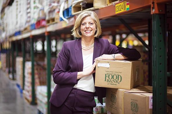 Katie Fitzgerald is CEO of Regional Food Bank of Oklahoma. - REGIONAL FOOD BANK OF OKLAHOMA / PROVIDED