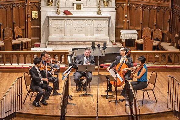 Brightmusic Chamber Ensemble performs Mozart: From Salzburg to Vienna 7:30 p.m. Tuesday at Saint Paul's Cathedral. - MICHAEL ANDERSON /  PERFORMING ARTS PHOTOGRAPHY / PROVIDED