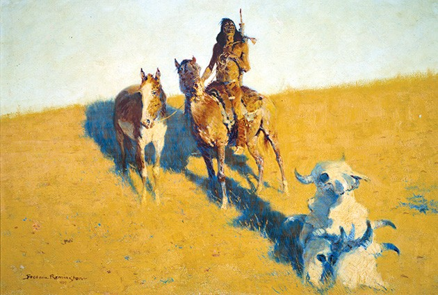 """The Sign of the Buffalo Scout"" by Frederic Remington - NATIONAL COWBOY & WESTERN HERITAGE MUSEUM / PROVIDED"