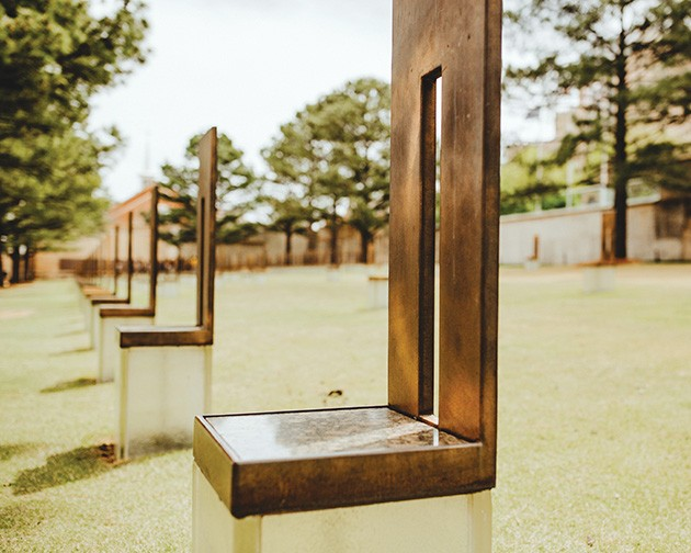 Oklahoma City National Memorial & Museum hosts a remembrance ceremony at 8:45 a.m. Friday. - ALEXA ACE