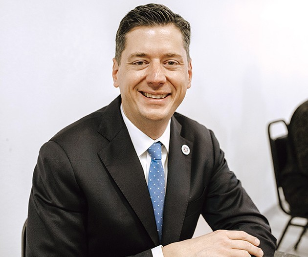 Oklahoma City mayor David Holt said public opinion will play a role in which MAPS4 projects reach the ballot. - ALEXA ACE