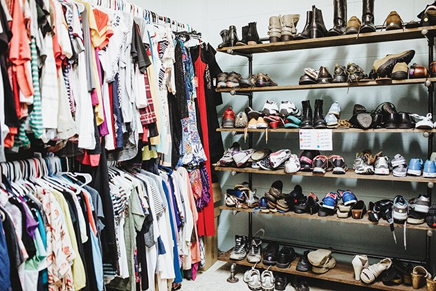 Sisu maintains a clothing closet for youth who enter its system. - ALEXA ACE