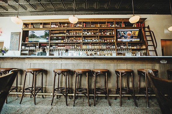 The new bar at Red Rooster - ALEXA ACE
