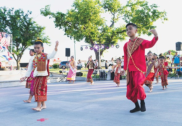 Asian District Night Market Festival features performances from different cultures. - VILONA MICHAEL / PROVIDED