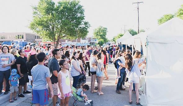 This year's Asian District Night Market Festival features 10 food trucks and 13 food vendors. - VILONA MICHAEL / PROVIDED