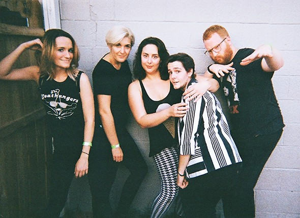LCG & the X plays 8 p.m. Friday at Pride Block Party.