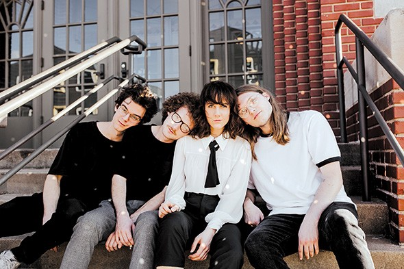 Spinster celebrates the release of its self- - titled album Friday at Opolis. - ALEXA ACE