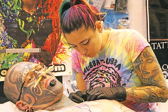 More than 100 tattoo artists will be at Oklahoma City Tattoo Arts Convention. - PROVIDED