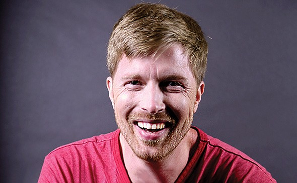 Comic and podcast host Shane Mauss presents Stand Up Science 8-11 p.m. Sunday at Opolis. - BRUCE SMITH / PROVIDED