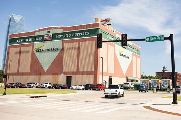 The current Oklahoma City Boulevard intersection in Bricktown is being moved to the west of U-Haul. - ALEXA ACE