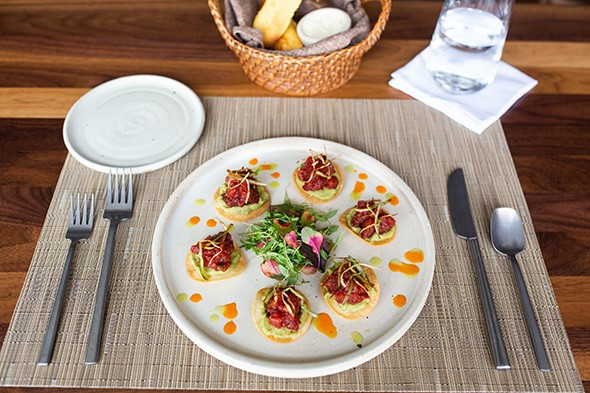 Tuna Tostaditos is Frida Southwest's answer to tuna tartare. - ALEXA ACE