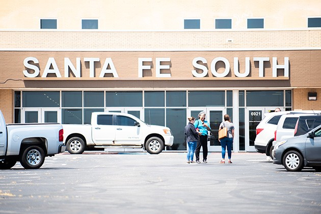 Santa Fe South High School, located at Plaza Mayor, is one of about 32 charter schools in the state. - MIGUEL RIOS
