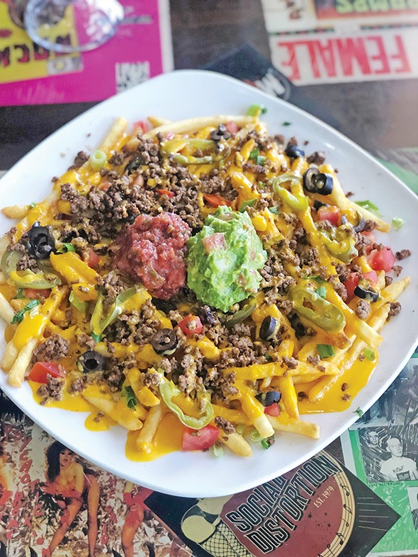 Impossible fries with taco-seasoned crumbles - ALY CUNNINGHAM / PROVIDED