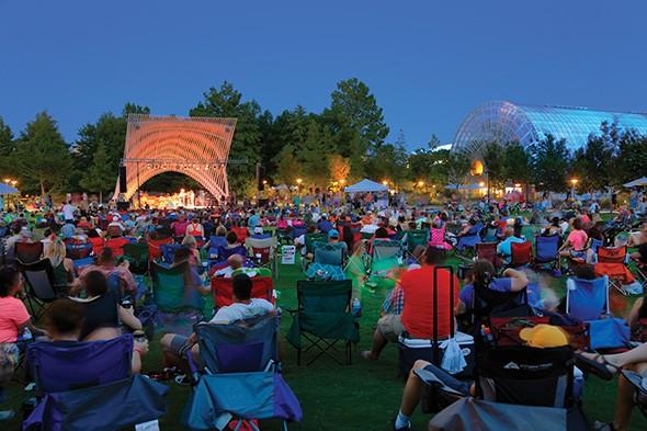 Myriad Botanical Gardens hosts a three-day event celebrating Woodstock's 50th anniversary Aug. 15-17. - DOUG HOKE / PROVIDED