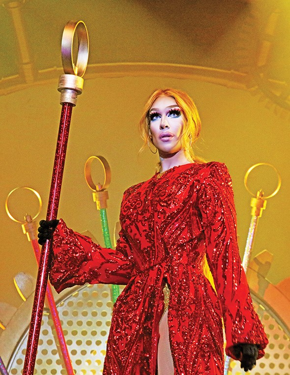 Kameron Michaels rules the planet Mars in Werq the World. - VOSS EVENTS / PROVIDED