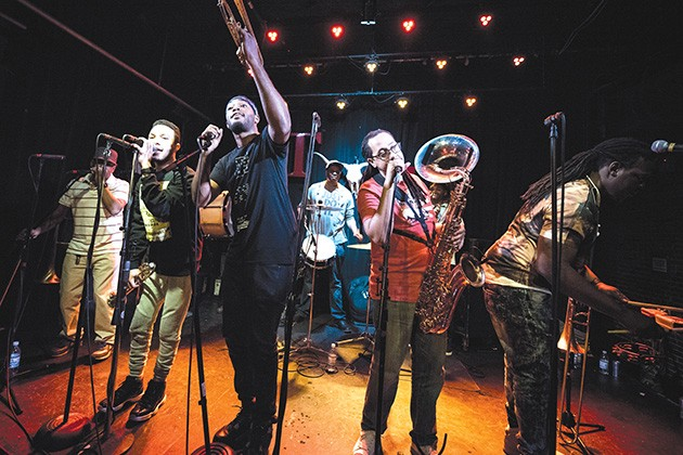 Rebirth Brass Band infuses traditional New Orleans jazz with elements of funk and hip-hop. - PROVIDED