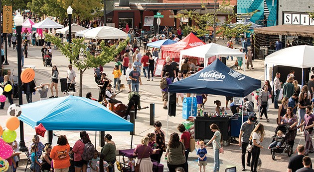 Featuring local art, food trucks, music and more, the 21st annual Plaza District Festival is 11 a.m.-10 p.m. Saturday in the 1700 block of NW 16th Street. - PROVIDED