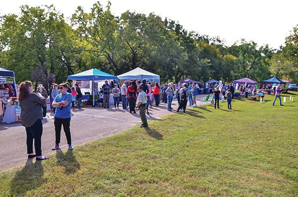 Edmond Pride is 10 a.m.-6 p.m. Oct. 12 at Hafer Park. - PROVIDED