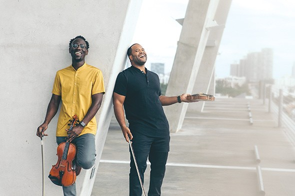 Black Violin plays 7:30 p.m. Nov. 14 at Oklahoma City Community College's Visual and Performing Arts Center Theater. - MARK CLENNON / PROVIDED