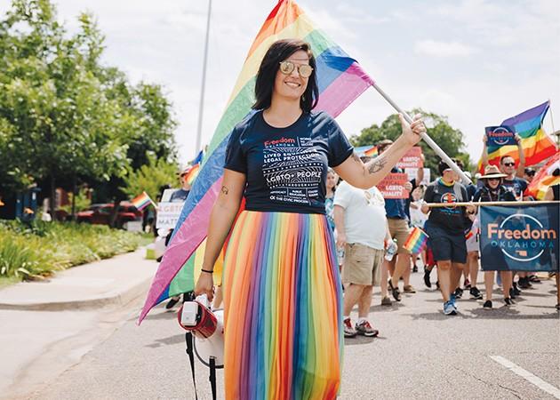 Allie Shinn is executive director of Freedom Oklahoma. - STEPHANIE MONTELONGO / PROVIDED