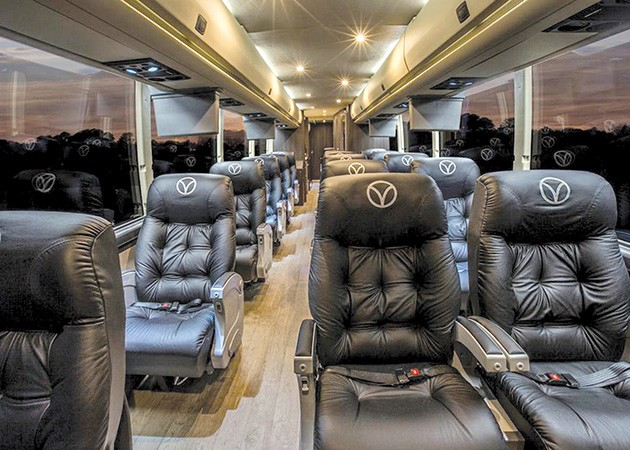 Vonlane boasts first-class service with a slew of complimentary amenities. - PROVIDED