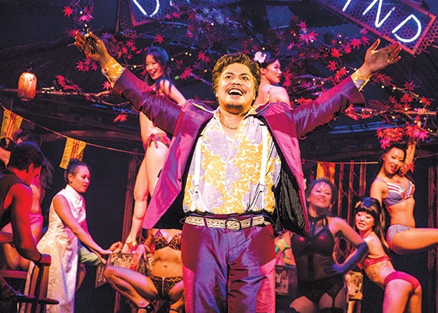 Red Concepción plays The Engineer in Miss Saigon. - MATTHEW MURPHY / PROVIDED