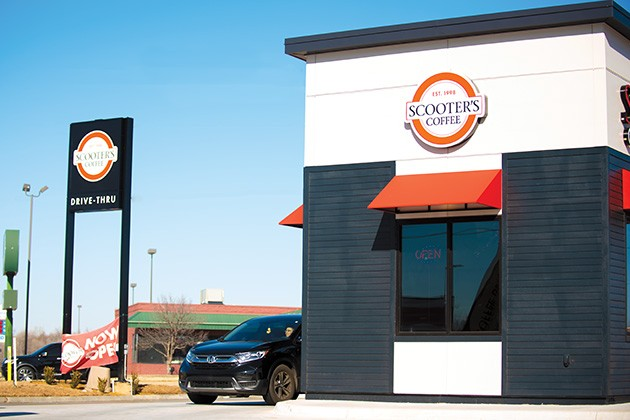 The first Scooter's Coffee location in Oklahoma City is at 7040 NW 122nd St. Approximately eight more are expected to open by the end of the year. - MIGUEL RIOS
