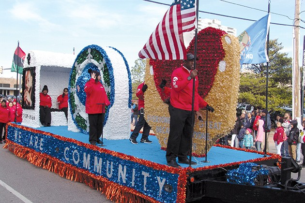 The annual holiday parade begins 2 p.m. Monday at NW Sixth Street and Walker Avenue. - PROVIDED