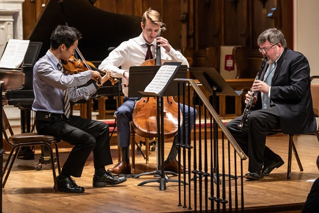 """Co-artistic director Chad Burrow said the concert features """"everything from modern all the way back to Mozart with a couple of major signposts in between."""" - PERFORMINGARTSPHOTOS.COM / PROVIDED"""