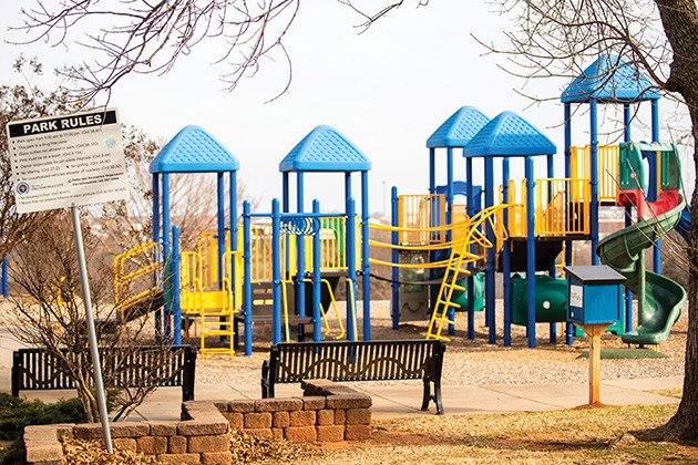 Oklahoma City voters will decide whether or not to pass a dedicated 1/8th cent sales tax to support neighborhood parks. - MIGUEL RIOS