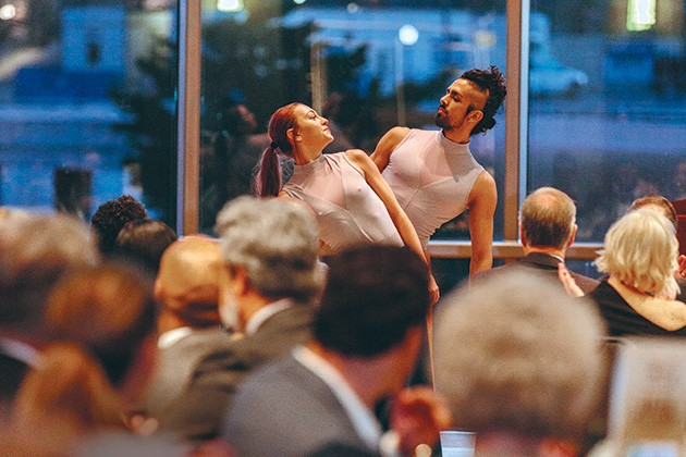 A Night with Ellison gala celebration features music, dance and spoken word performances. - PROVIDED
