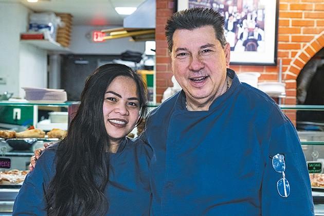 Winsil and Danny Falcone operate New York PIzza & Pasta in Norman. - PHILLIP DANNER