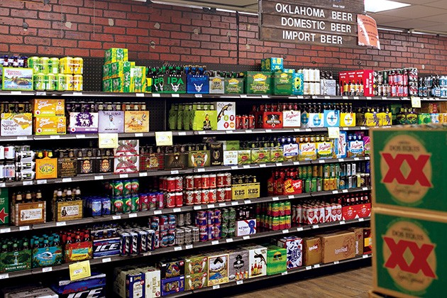 In Oklahoma County, an overwhelming 70 percent of the more than 90,000 voters approved Sunday liquor store sales. - GAZETTE / FILE