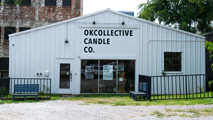 OKcollective Candle Co. - PHILLIP DANNER