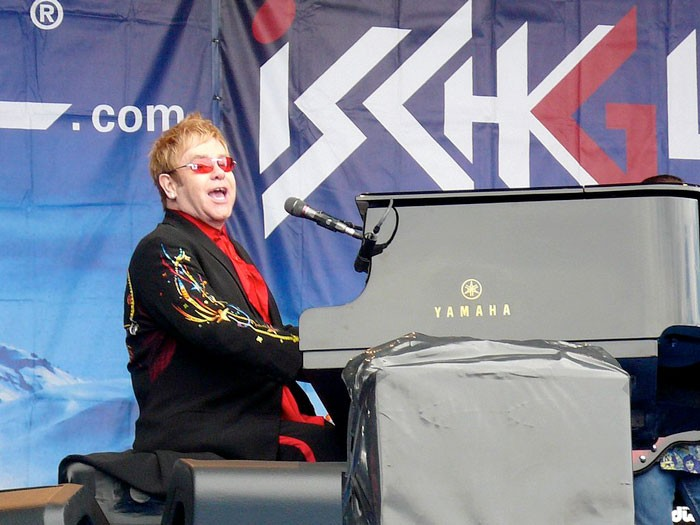 Elton John - THOMAS WALECZKA / WIKIMEDIA COMMONS / PROVIDED