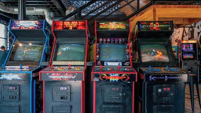 Up-Down has a central warehouse and rotates games throughout its five locations. - PHILLIP DANNER