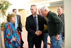 Steve Russell jumps headlong into his new duties as a state congressman