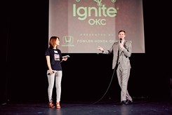 IgniteOKC offers 13 presenters 5 minutes each to share rapid-fire, TED-like talks