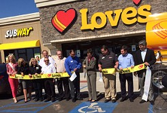 Love's rebuilds store destroyed by tornado