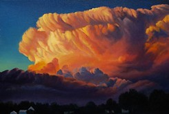 Artist interprets familiar scenes from Oklahoma skies, reaches new audience
