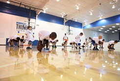 OKC Thunder camp for youth