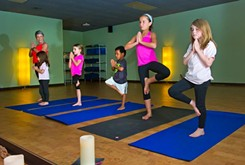 Children, adults benefit from Yoga