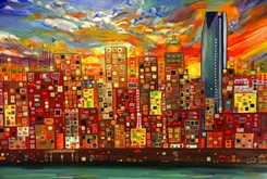 Metro skylines examined through artistic lens at DNA