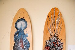 Local artist paints her way into the skateboard subculture