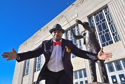 Emcee Gregory Jerome performs with OKC Phil in <em>Celebrate Black History</em> family event